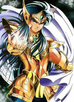 Credits for the image: Iso-pI Aquarius Camus - Saint Seiya Comics Anime, 5 Anime, Aquarius, Anime Saint, Knights Of The Zodiac, Fanart, Animation, Bishounen, Thundercats