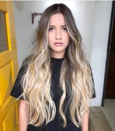 32 ideas for hair blonde highlights natural Blond Ombre, Brown Ombre Hair, Ombre Hair Color, Cool Hair Color, Beach Hair Color, Blonde Color, Blonde Hair With Highlights, Blonde Balayage, Natural Highlights