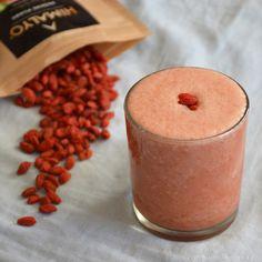 CORCULUM    Fit Kuchařinka: Jahodové smoothie s goji
