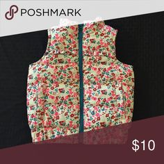 Genuine Kids floral puffer vest Adorable puffer vest from Genuine Kids by OshKosh. Perfect for fall layering!! Genuine Kids Jackets & Coats Vests