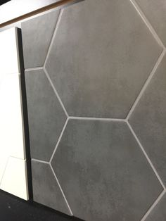 Daltile Glass Mosaic Hex Field Tile In Matte Ebony And Matte Frost - Daltile oakland