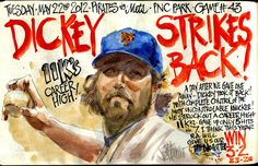 My Mets Journal: Dickey Strikes back at Pirates!