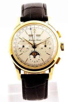 Discover a large selection of Mathey-Tissot watches on - the worldwide marketplace for luxury watches. Compare all Mathey-Tissot models ✓ Buy safely & securely Cool Watches, Watches For Men, Wrist Watches, Men's Watches, Vintage Watches, Luxury Watches, Gold Watch, Chronograph, Omega Watch