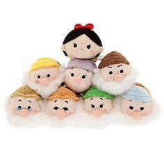 Disney Mini peluche Tsum Tsum Blanche Neige et ses amis   Disney Store