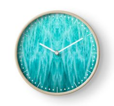 Amazonite Clock by lightningseeds® for crystalapertures.rocks.