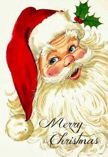 cross stitch pattern merry christmas santa face de la boutique Sylvieaimecreer s. Merry Christmas Santa, Old Fashioned Christmas, Christmas Scenes, Christmas Past, Christmas Greetings, Winter Christmas, Xmas, Christmas Fabric, Christmas Wishes