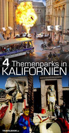 Die Freizeitpark-Attraktionen in Kalifornien