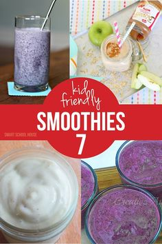 Kid Friendly Smoothies