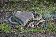 broken heart tombstone. lovely.