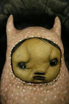 the best body paint 2011: dark adorable clay creatures
