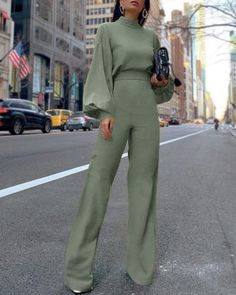 25 Latest Office & Work Outfits Ideas for Women - Work Outfits Women Jumpsuit Overall Damen, Mode Outfits, Chic Outfits, Girly Outfits, Pretty Outfits, Modest Fashion, Fashion Dresses, Abaya Fashion, Vintage Clothing