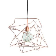 Asymmetric-copper-lampshade-house-doctor