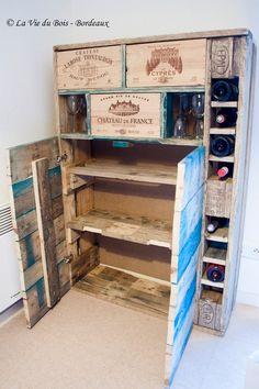 1000 id es sur vin palette sur pinterest casiers - Combien de bouteilles de vin sur une palette ...