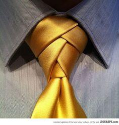 Coolest Way To Tie A Tie: The Eldredge Necktie Knot