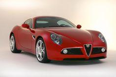 Photographs of the 2009 Alfa Romeo Competizione. An image gallery of the 2009 Alfa Romeo Competizione. Alfa 8c, Alfa Romeo 8c, Alfa Romeo Spider, Alfa Romeo Cars, Dream Cars, Enjoy Car, Sexy Cars, Car Manufacturers, Car Photos
