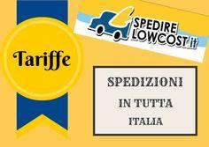 tariffe spedizioni italia
