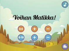 Voihan Matikka by Mikko Salmi Learn To Count, Special Education, Itunes, Connection, Ipad, Math, Learning, Fun, Computers