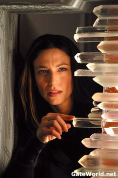 Vala Mal Doran - Claudia Black - Stargate SG-1 she was a good part of the team, albeit a bit on the wild side