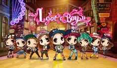 "Artwork ""I Got a Boy"" by D.Shuyu"