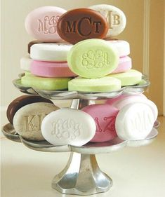 Monogram soap!