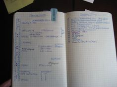 bullet journal monthly - Google Search - like the timeline on the monthly!