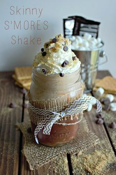 Smores Smoothie, use homemade or organic graham crackers & marshmellows