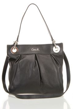 Beautiful coach bag... love this, maybe in green!