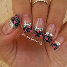 Leopard nail tips ===== Check out my Etsy store for some nail art supplies https://www.etsy.com/shop/LaPalomaBoutique