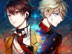 Inaho and Slaine   _Aldnoah.Zero