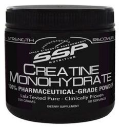 "SSP Creatine Monohydrate Product Review:  ""Nobody is paying me to say this.  The Creatine is the best I have ever used and more then that, I found your price to be more then fair.  Tried one canister and ordered two more within a week just to make sure I don't run out""."