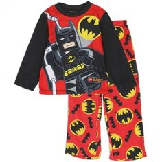 DC Comics Lego Batman red fleece top with Bat Signal and Batman with red pajama bottoms with Bat Signals Shop Kids Fashion Clothing Store for Batman sleepwear Red Pajamas, Fleece Pajamas, Pajama Bottoms, Pajama Top, Boys Sleepwear, Kids Clothes Boys, Pjs, Kids Outfits