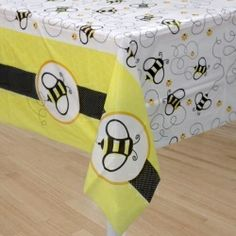 Bumble Bee Party Table Cover