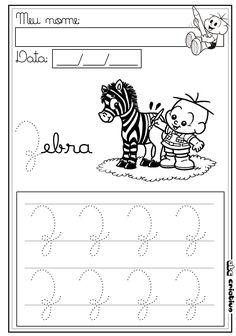 ATIVIDADES DE EDUCAÇÃO INFANTIL E MUSICALIZAÇÃO INFANTIL: Alfabeto Pontilhado