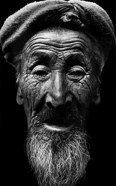 102 year-old Chinese man, a farmer who started working at age four.