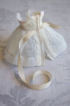 Doll clothes from grandma's hankie and other sweet bits | by Kikihalb ♧ Forest~Tales ♧