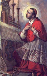 Oración en puntadas: Oraciones a San Carlos Borromeo