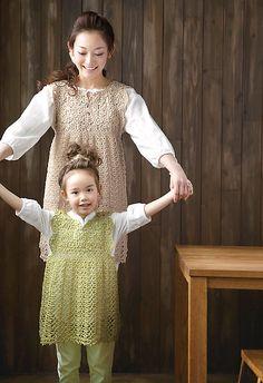 Ravelry: 214ss-26 Motif Dress pattern by Pierrot (Gosyo Co., Ltd)