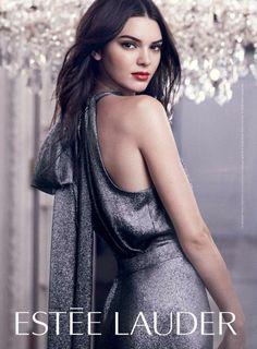 Kendall Jenner pub pour Estée Lauder