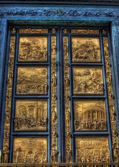 The Gates of Paradise Battistero di San Giovanni Florence, Italy by Shawn Stilwell