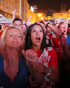 Croatia fans turned out in their thousands to watch their team take on Brazil on the opening night of the 2014 World Cup