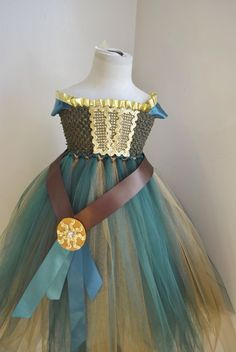 Brave Merida Inspired Tutu Dress Costume Infant to Girls by OurSweetSomethings4U on Etsy https://www.etsy.com/listing/185335375/brave-merida-inspired-tutu-dress-costume