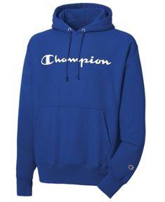 Image 1 of Champion Men's Reverse Weave® Logo Pullover Hoodie Pullover Hoodie, Fleece Hoodie, Black Champion Hoodie, Champion Wear, Champion Shoes, Champion Brand, Champion Clothing, Champion Sportswear, Estilo Cholo