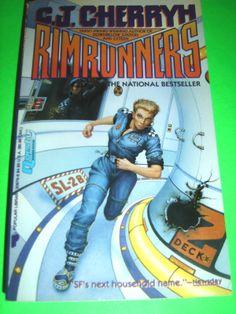 RIMRUNNERS BY C.J. CHERRYH 1990 PB BOOK