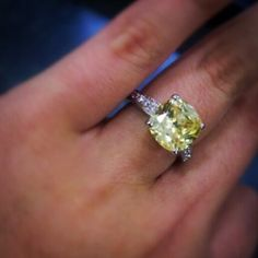 Yellow stone ring Not real but doesn't not tarnish Jewelry Rings