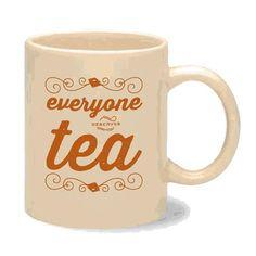 "Lizzie Bennet Diaries ""Everyone Deserves Tea"" Mug"