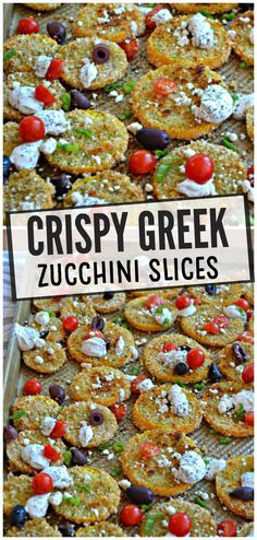 Crispy Greek Zucchini Slices – Make the Best of Everything Zucchini Slice, Squashes, Best Comfort Food, Group Meals, Greek, Homemade, Chicken, Recipes, Pumpkins