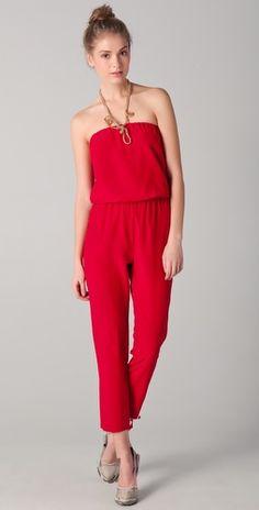 Red Mason Jumpsuit