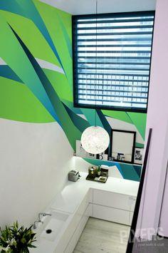 Wall Mural Neon Green Power wall mural • Inspirations • PIXERSIZE.com