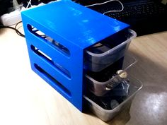Stackable Drawer System by ProgressTH - Thingiverse