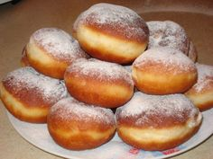 So it will be perfect for the donuts! Whether your grandmother would have done… Easy Cookie Recipes, Gourmet Recipes, Cooking Recipes, Hungarian Recipes, Bread Baking, Donuts, Sweet Tooth, Food And Drink, Yummy Food